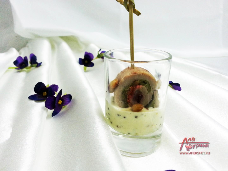 мини закуски на банкет фото: